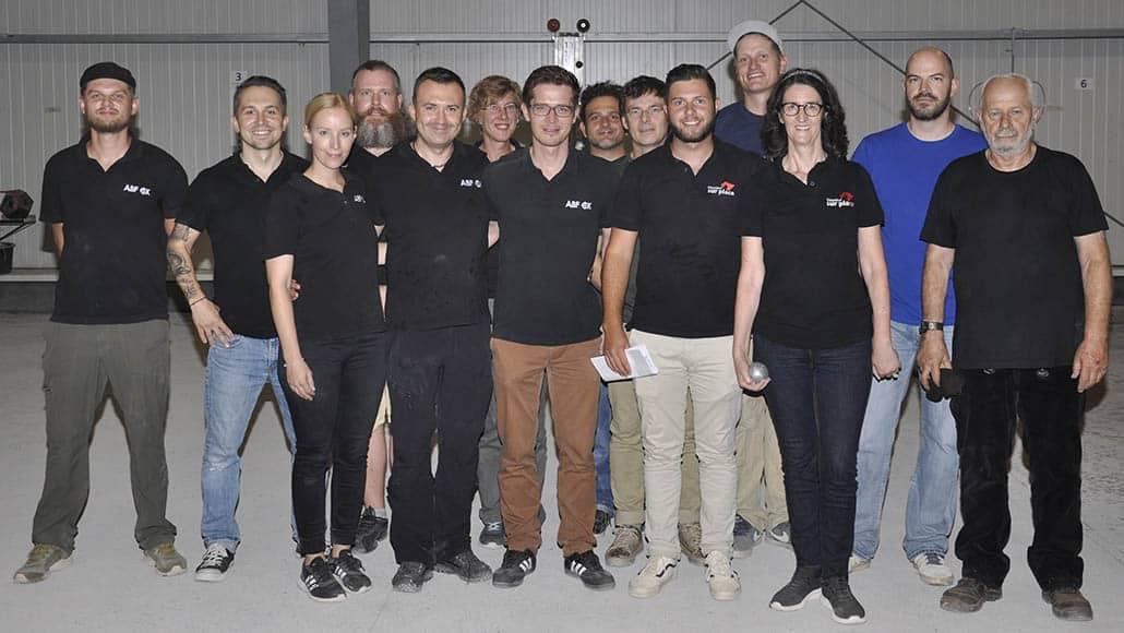 Teams Sur place und Köln ABF CK BPV NRW Cup 2018