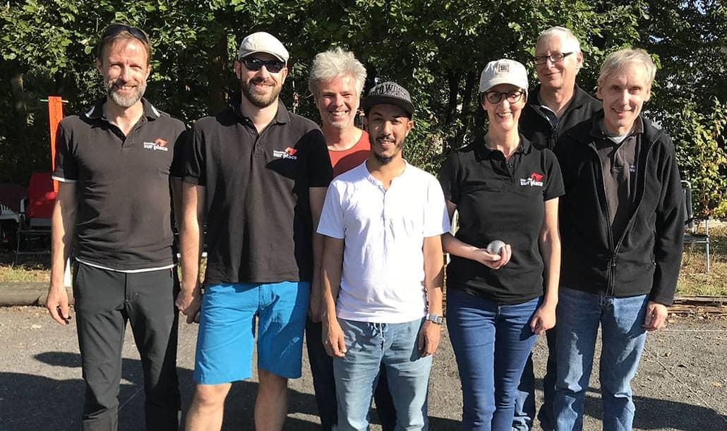 Team Düsseldorf sur place 2 2018