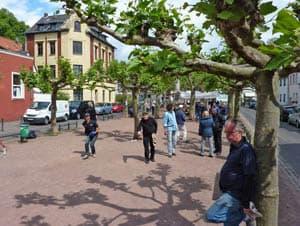 Bouleplatz Alter Markt in Düsseldorf-Gerresheim