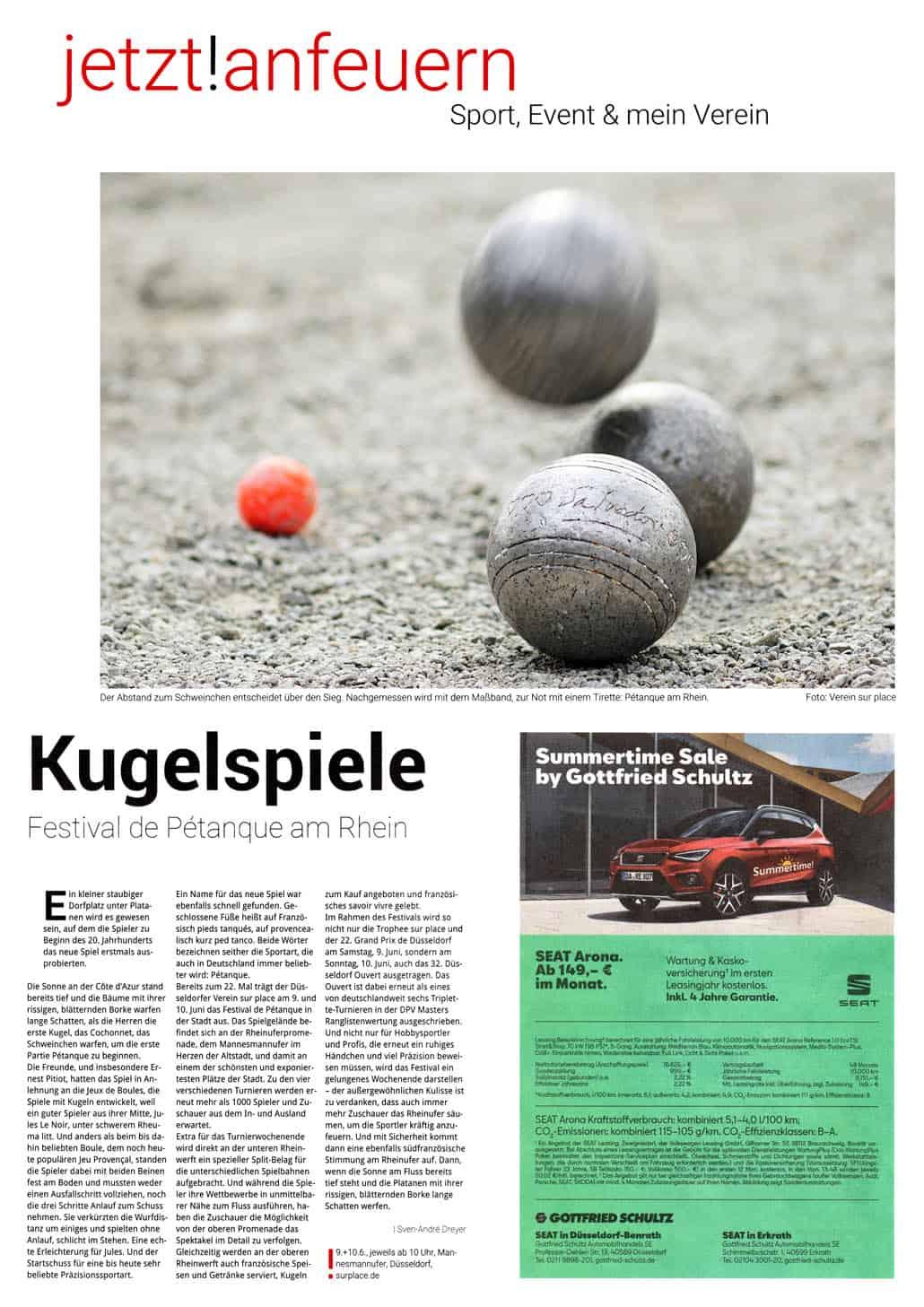 Bericht Düsseldorfer Anzeiger 02.06.2018 klein