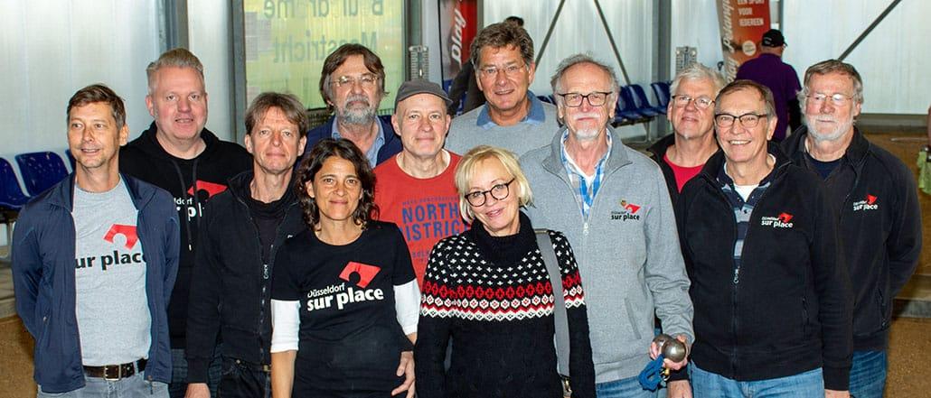 Das Team von Düsseldorf sur place beim 6-Städte-Turnier in Maastricht 2019