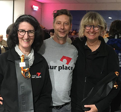 Diane, Carsten und Karin beim 6-Städte-Turnier in Maastricht 2019