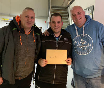 Die Sieger des Zicke-Cup 2020: Cedric Schumacher, Jean-Michel Flawinne und Michael Stivala