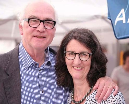 1989-kej Eröffnung Portrait Norbert und Diane