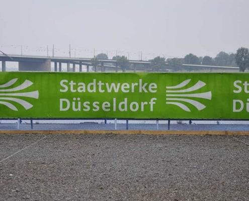 2158-thz Banner Stadtwerke Düsseldorf